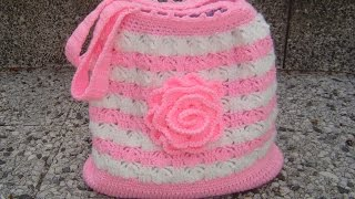 Tutorial Bolso Tejido A Crochet Paso A Paso Parte 1/2