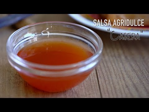 Salsa Agridulce Casera Súper Fácil - Easy Chinese Sweet And Sour Sauce