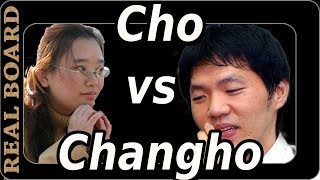 Cho Hyeyeon Vs Lee Changho!   Real Board Baduk Lecture