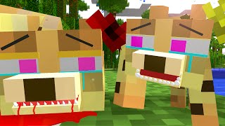 Ocelot Life   Craftronix Minecraft Animation