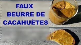Beurre de cacahuètes léger