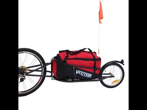 Rimorchio per bicicletta mod. Vector