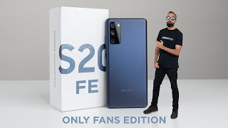 Samsung Galaxy S20 FE UNBOXING