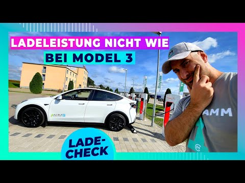Tesla Model Y Ladespeed 10-80%: ACHTUNG bei Batteriewahl!