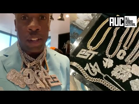 Yo Gotti Shows All His CMG Artist Diamond Chains ? Spent Over $3M On They Brands