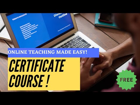 Online Teaching | Free Certificate Course | English | Edapt - YouTube