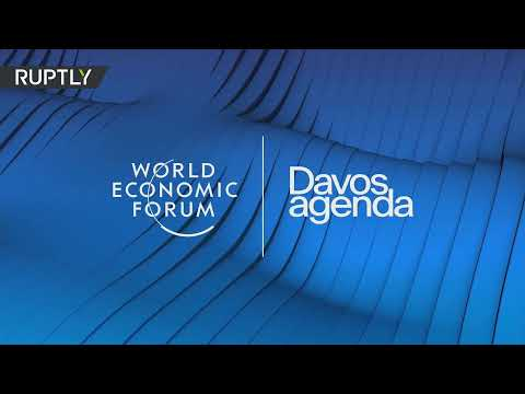 Netanyahu delivers address at the WEF in Davos