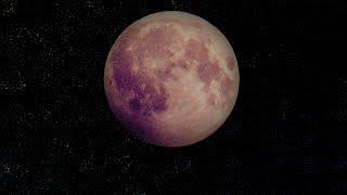 Тихая, усыпляющая музыка для сна и сеансов релаксации | Луна, Космос, Частицы, Частоты
