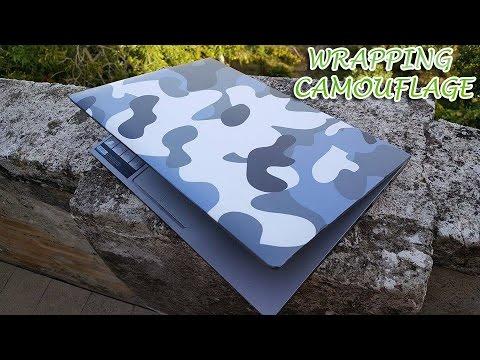 Come pellicolare il PC portatile | Wrapping Camouflage