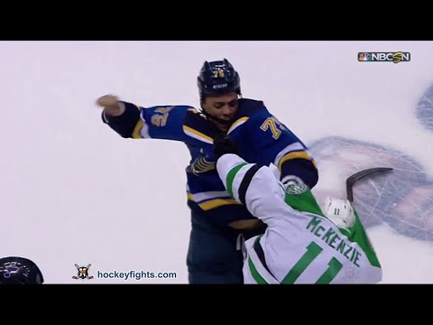 Ryan Reaves vs. Curtis McKenzie