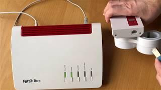 Mesh: FRITZ!Repeater per Netzwerkkabel (LAN) mit FRITZ!Box einrichten