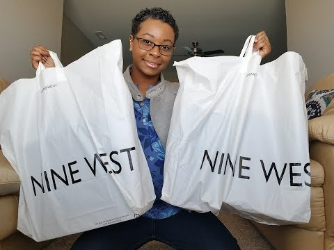 NINE WEST SHOE HAUL | BLOWOUT SALE 😂😱