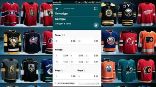 Хоккей НХЛ Питтсбург - Калгари  прогноз на матч 16.02.2019