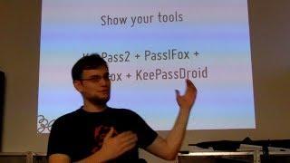 Show your tools: KeePass 2 + PassIFox + DropBox + KeePassDroid