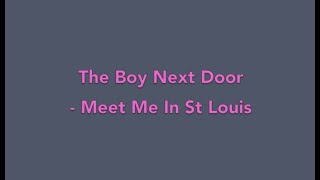 The Boy Next Door - Meet Me In St Louis (Piano Cover)