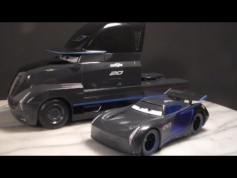 TEAM IGNITR (JACKSON STORM & GALE BEAUFORT) CARS 3 NEW DISNEY STORE PIXAR DIECAST REVIEW