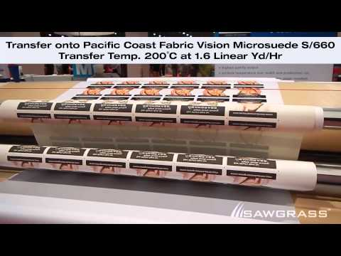 Digital Textiles using Sublimation Transfer Printing
