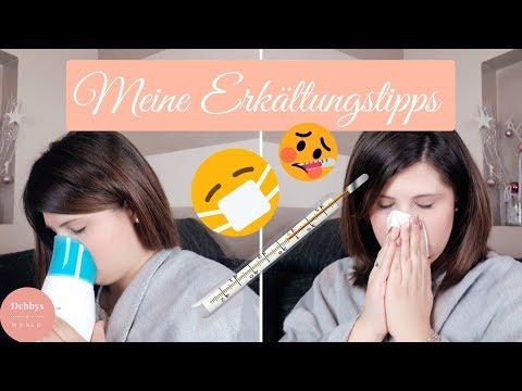 Was tun gegen Erkältung🤒|Erkältungs-Routine|Tipps