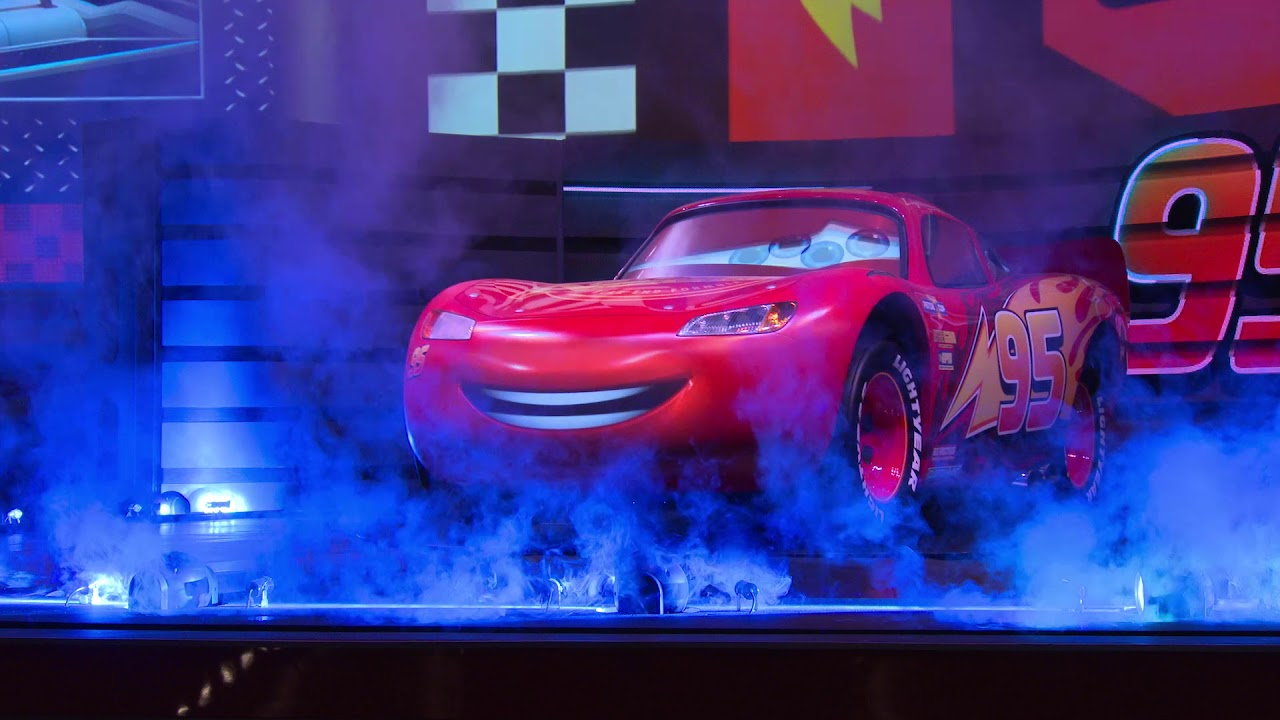 First look at Lightning McQueen's Racing Academy