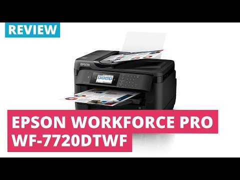 Printerland Review: Epson Workforce Pro WF-7720DTWF A3 Colour Multifunction Inkjet Printer