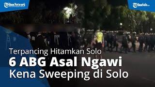 Terpancing Ajakan Hitamkan Solo, 6 ABG Pesilat PSHT asal Ngawi Kena Sweeping Polisi di Manahan Solo