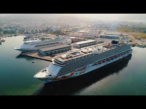 U barsku luku uplovio do sad najveći brod, kruzer Norwegian Getaway
