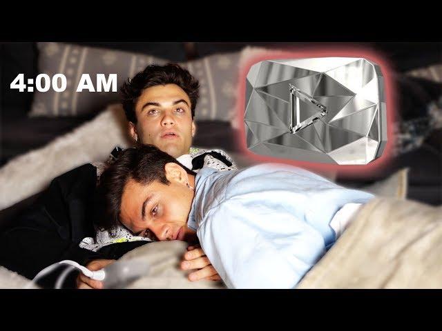 Last To Fall Asleep Gets The 10 MILLION DIAMOND PLAY BUTTON!