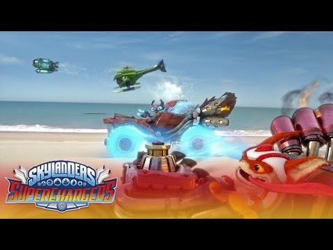 "Official Trailer: ""Large and SuperCharged"" l Skylanders Superchargers l Skylanders thumbnail"