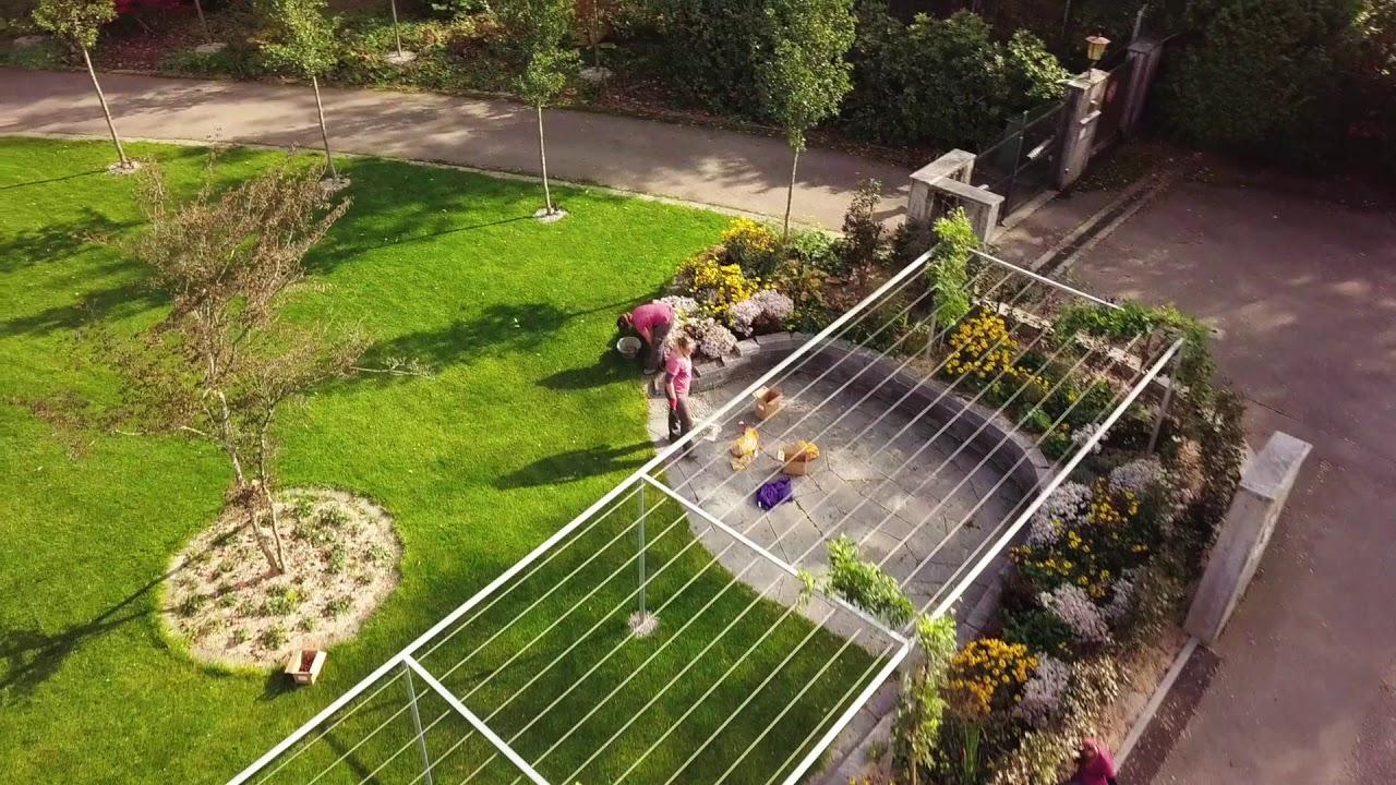 Gartenprojekt im Video präsentiert