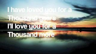 A Thousand Years Instrumental