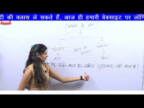 Download Vakya Ke Ang Online Classes For Hindi Grammar Hindi By