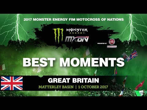MX2 Best Moments Qualifying Race - Monster Energy FIM Motocross of Nations 2017