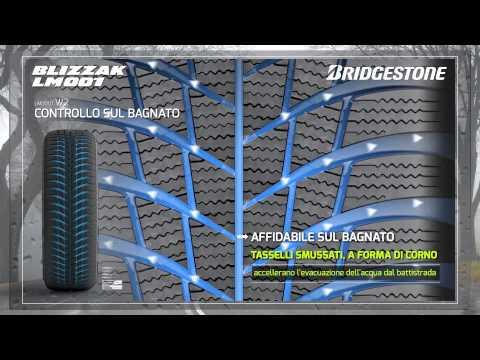 Bridgestone Blizzak LM001: Pneumatici Invernali 2014 - 2015