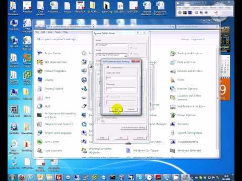 comment installer scanner kyocera 1030