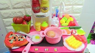 Đồ Chơi Nhà Bếp Dễ Thương Electric Home Kitchen Playset Chơi Cùng Chị Bí Đỏ | Đồ Chơi Trẻ