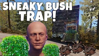 RUST | SNEAKY BUSH TRAP BASE! *Easiest MOST EFFECTIVE Trap*