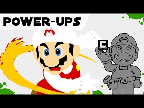 Tips, Tricks and Ideas with POWER-UPS in Super Mario Maker.