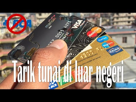 Saya pilih debit Mandiri dibanding debit BCA untuk tarik ATM di luar negeri
