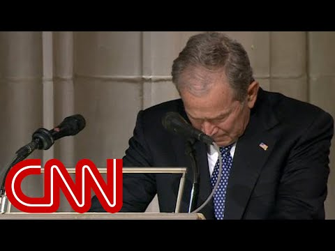Download George W. Bush cries delivering eulogy for his father, George H.W. Bush (Full Eulogy) HD Mp4 3GP Video and MP3