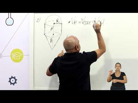 Aula 11 | Cone - Parte 03 de 03 - Exercícios Resolvidos - Matemática