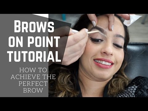 BROW SHAPING BY THE BEST | BEAUTY GIRLS BROW BAR