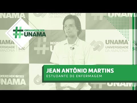 #OrgulhoDeSerUNAMA | Jean Antônio Martins