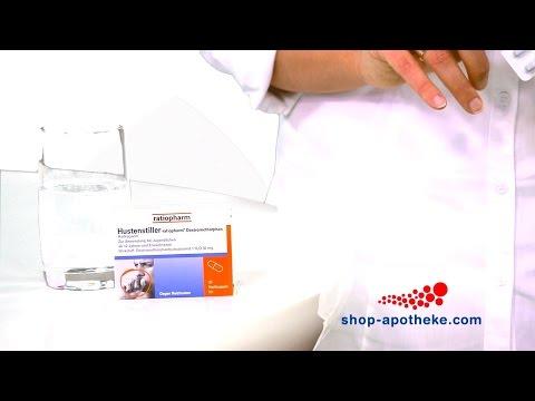 Hilfe bei Reizhusten mit Hustenstiller-ratiopharm Dextromethorphan Kapseln