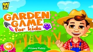 Garden Game for kids Сад и Огород для Детей играем с Best Kids Apps Мультобзор
