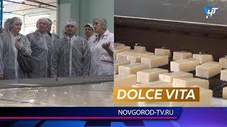 Сергей Бусурин побывал на одном из самых сладких производств Великого Новгорода
