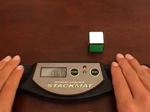 1x1 One Handed Solve 0.07 Secs