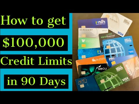 How to get $100,000 in Credit Limits in 90 days. Secret Funding Strategy for 2021
