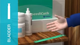 How to use a catheter for boys – using SpeediCath®