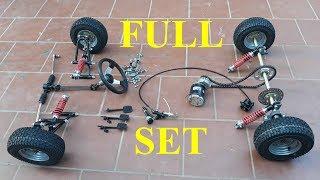 Full Set Of Car Parts (go Kart)