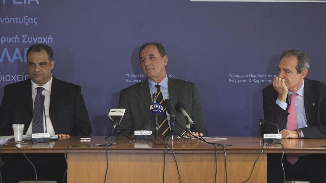 Γ. Σταθάκης: Πολύ σημαντική η λειτουργία του Χρηματιστηρίου Ενέργειας
